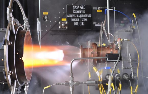 3D tisk, zdroj: NASA