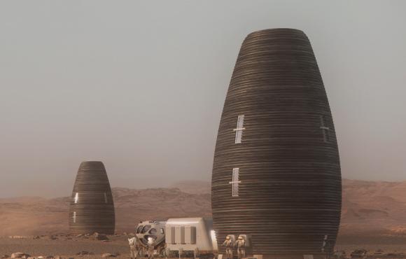 NASA vybrala 3D tištěné obydlí pro Mars v soutěži