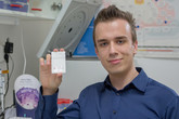 """""""Chci stát u zrodu nové léčby cukrovky,""""  říká Marek Novák, student z ČVUT."""